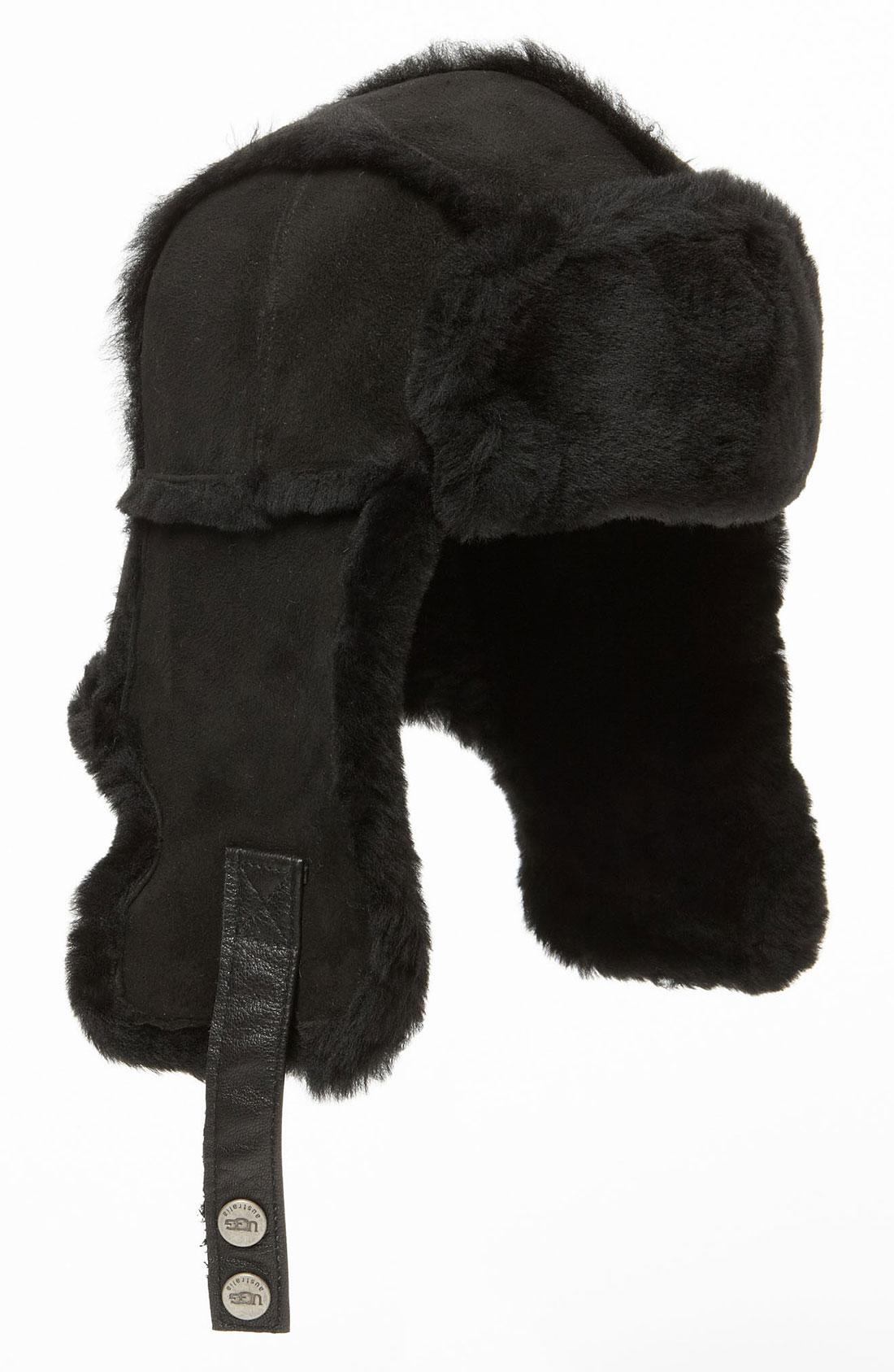 2422de72431b1 Ugg Trapper Hat Black