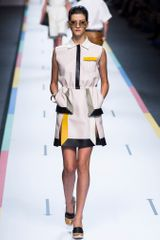 Fendi Spring 2013 Runway Look 5 in  - Lyst