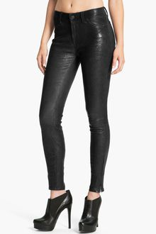 J Brand Lambskin Leather Pants - Lyst