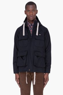 Maison Kitsuné  Hooded Wool Lined Parka - Lyst
