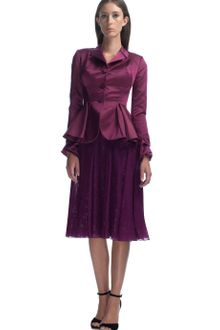 Zac Posen Deep Purple Structured Dinner Jacket - Lyst