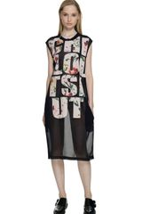 3.1 Phillip Lim Laundered Cotton Jersey Chill Out Dress
