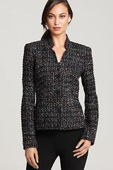 Lafayette 148 New York Cambria Tweed Jacket in Black (black multi) - Lyst