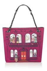 Love Moschino Charming House Tote Bag - Lyst