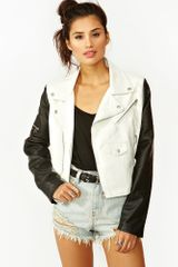 Nasty Gal Dark Side Moto Jacket - Lyst