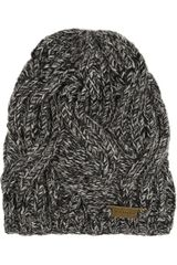 Burberry Shoes & Accessories Cable Knit Wool Beanie - Lyst