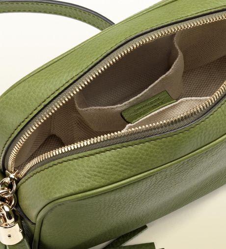 436bebe97752e1 Gucci Soho Disco Bag Bottle Green | Stanford Center for Opportunity ...