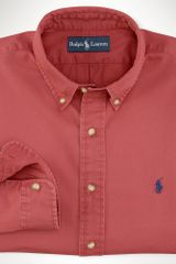 Polo Ralph Lauren Customfit Chino Shirt - Lyst