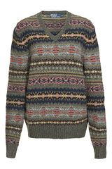 Polo Ralph Lauren Fair Isle Jumper - Lyst
