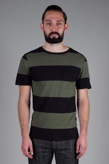 Saturdays Surf Nyc Randall Block Stripe T-shirt - Lyst