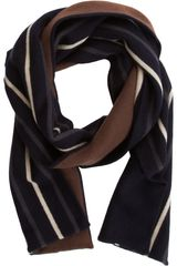 Armand Diradourian Vertical Striped Scarf - Lyst