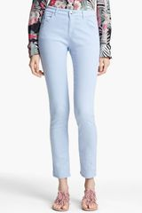 Armani High Waist Stretch Jeans - Lyst