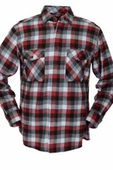 Double Two Long Sleeve Cotton Check Casual Shirt - Lyst