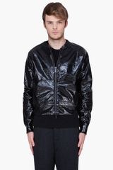 DSquared2  Classic Fit PVC Printed Jacket - Lyst