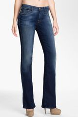 7 For All Mankind Bootcut Stretch Jeans - Lyst