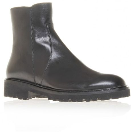 Kurt Geiger Ankle Boots in Black - Lyst