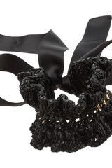 Marni Crocheted Coal Bracelet in Black (coal) - Lyst