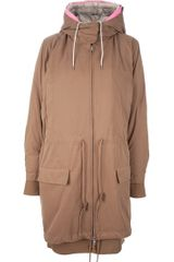 Acne Layered Parka - Lyst