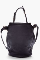Alexander Wang Black Studded Diego Bucket Bag in Black - Lyst