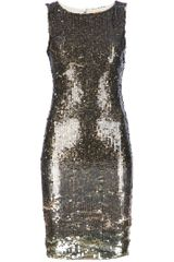 Alice + Olivia Sequinned Dress