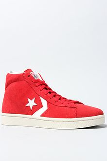 Converse The Pro Leather Sneaker in Varsity Red - Lyst