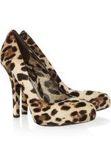 Dolce & Gabbana Leopardprint Calf Hair Pumps in Animal (leopard) - Lyst
