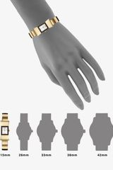 Kate Spade Carlyle Goldtone Bow Bangle Watch in Gold - Lyst