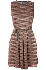 M Missoni Sleeveless Skater Dress