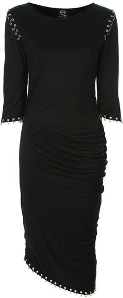 McQ by Alexander McQueen Eyelet Dress - Lyst