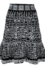 McQ by Alexander McQueen Knitted Skirt - Lyst