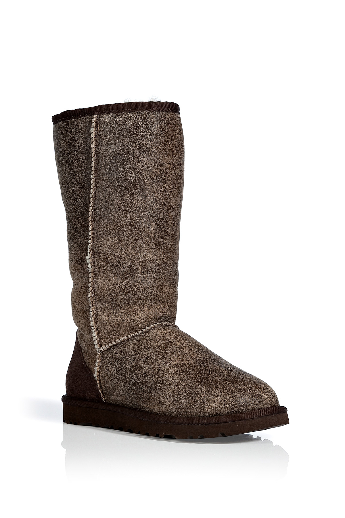 Lyst Ugg Chestnut Vintage Classic Tall Bomber Boots In Brown