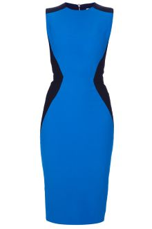 Victoria Beckham Hourglass Detail Dress - Lyst