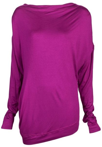 Vivienne Westwood Anglomania Toga Top in Purple (fuchsia) - Lyst