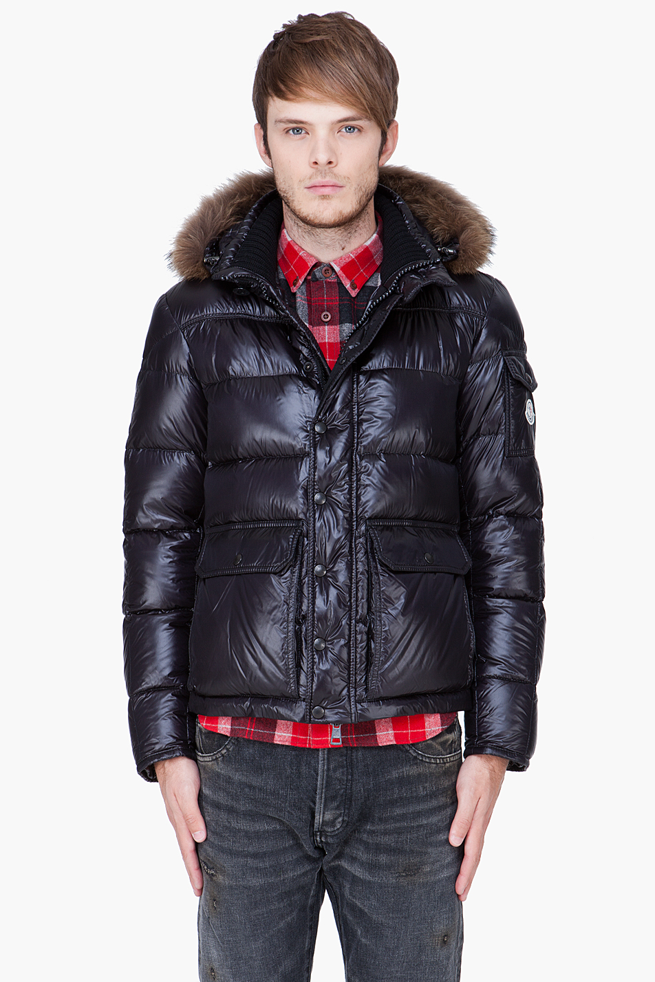 moncler hubert black