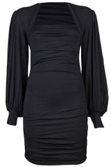 Plein Sud Bishop Sleeve Dress - Lyst