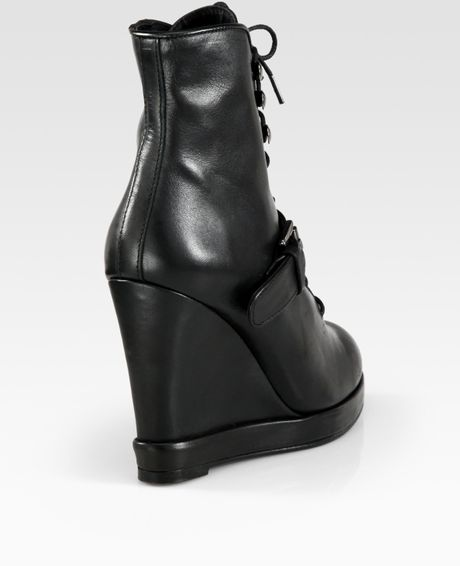 Ankle Boots Buckles Buckle Wedge Ankle Boots