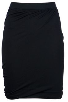 T By Alexander Wang Ruched Skirt - Lyst