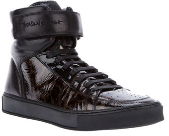 Yves Saint Laurent Lace Up Trainers - Lyst