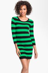 French Connection Bambi Knits Stripe Sweater Dress - Lyst