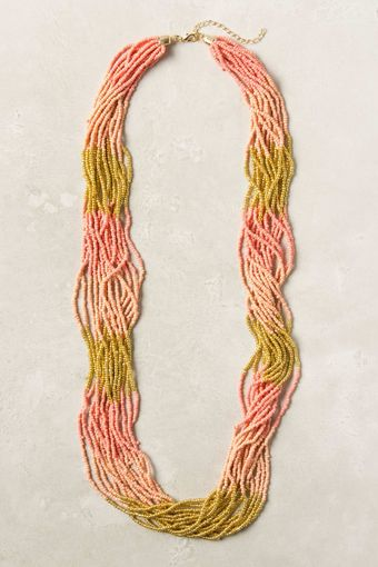 Anthropologie Uniform Bits Necklace - Lyst