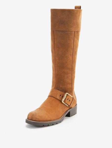 clarks clarks orinoco jazz knee high leather boots in