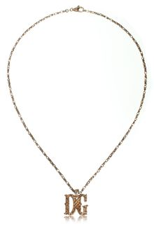 Dolce & Gabbana Dolce Gabbana Necklace Goldplated - Lyst