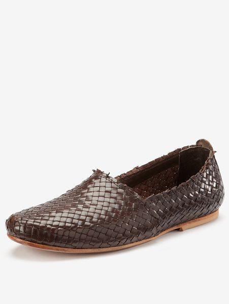 H By Hudson Cozumel Woven Espadrille in Brown for Men