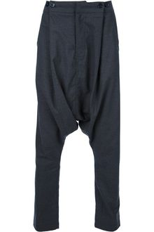 Kai Aakmann Dropped Crotch Trousers - Lyst