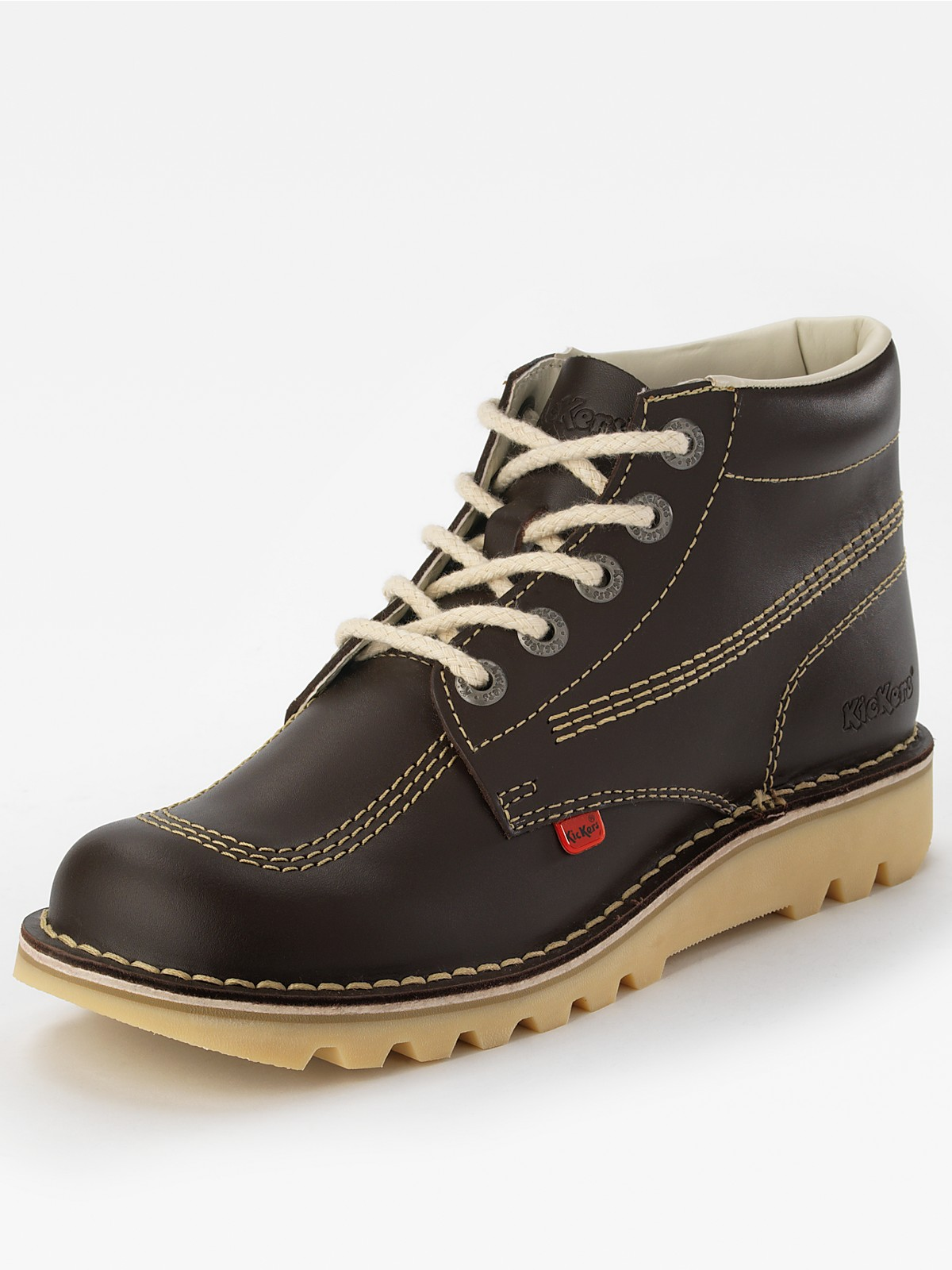 Kickers Kick Hi Mens Core Boots in Brown for Men ...