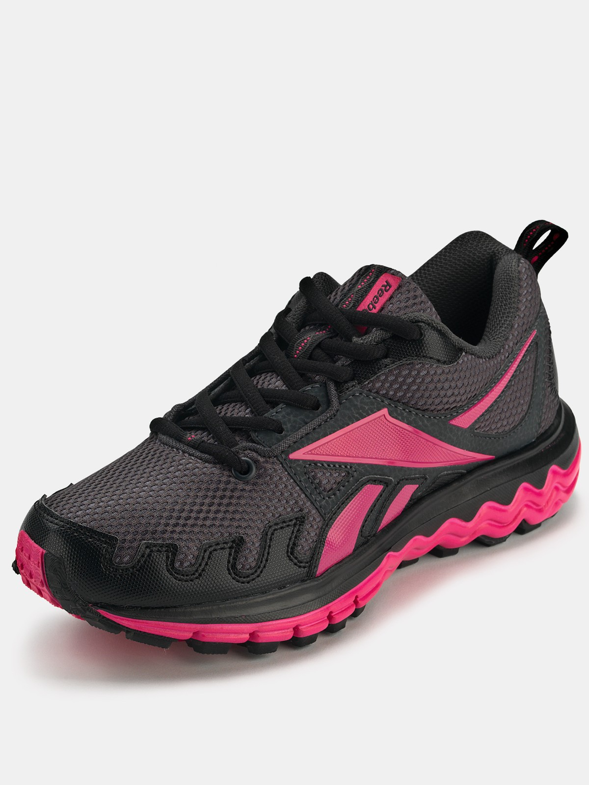 reebok fuel trail running shoes in pink black pink lyst