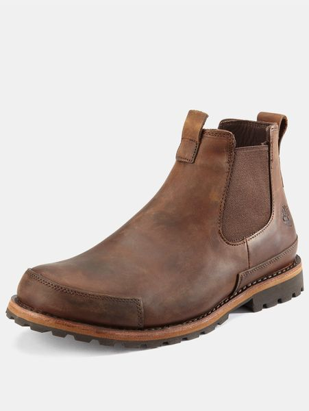 timberland chelsea boots in brown for men copper roughcut. Black Bedroom Furniture Sets. Home Design Ideas