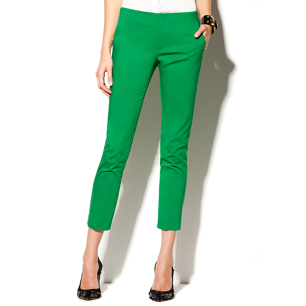 Lyst Vince Camuto Angle Pocket Skinny Pant In Green