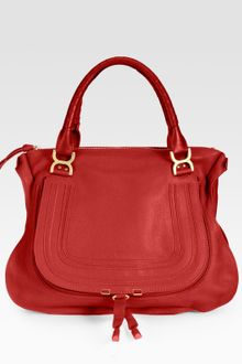 Chloé Marcie Large Shoulder Bag - Lyst