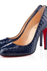 Christian Louboutin Ron Ron in Blue (navy) - Lyst